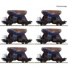 Roco 75959  12-tlg. Display: Gealterte Schotterwagen, Railpro