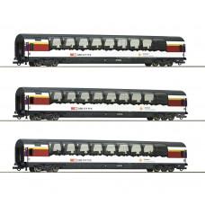"Roco 74081 - 3-tlg. Set 1: ""Gotthard Panorama Express"", SBB"
