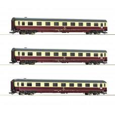 """Roco 74095 - 3-tlg. Set 1: Autoreisezug """"Christoforus-Express"""", DB"""