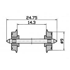 Roco 40197 NEM-Normradsatz