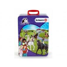 Schleich 3115 Horse Sammelkoffer für 10 Pferde