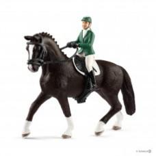 Schleich 42358 Springreiterin mit Pferd