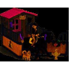 Schleich 42437 Pferdebox mit Tori & Princess