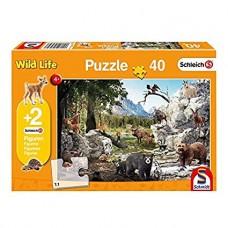 Schleich 56239 Puzzle Wild Life, Schmidt Spiele