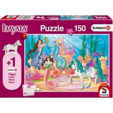 Schleich 56303 Puzzle Das Schloß von Meamare, Schmidt Spiele