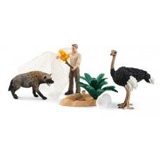 Schleich 42504 Angriff der Hyäne