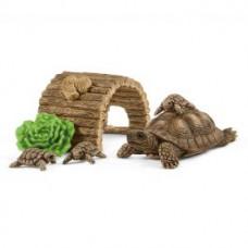 Schleich 42506 Zuhause für Schildkröten