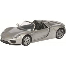 Schuco 452011300 - Porsche 918 Spyder 1:64, srebrny