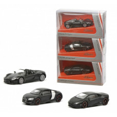 Schuco 452015900 Concept Black 3-er Set 1:64