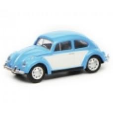 Schuco 452640200 VW Käfer, blau weiß