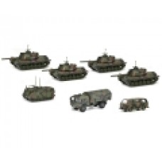 """Schuco 452643300 Panzerkompanie """"Bundeswehr"""", flecktarn"""