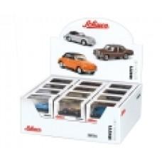 """Schuco 452646500 Display 1:87/H0 """"MHI"""" (24 Modelle, 12-fach sortiert) hier: Einzelverkauf"""
