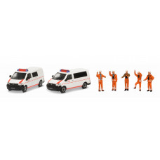 Schuco 452655500 MHI Set DB NOTFALL VW T5 1:87
