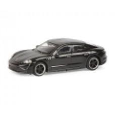 Schuco 452655900 Porsche Taycan, schwarz