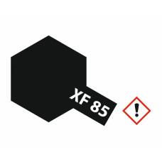 Tamiya 81785 XF-85 Gummi-schwarz matt 10ml Acryl