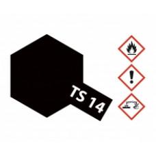 Tamiya 85014 TS 14  Schwarz, glänzend