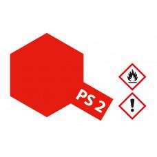 Tamiya 86002 PS-2 Rot Polycarbonat 100ml