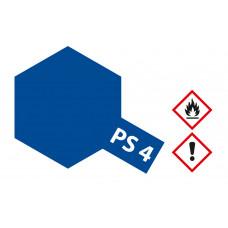 Tamiya 86004 PS-4 Blau Polycarbonat 100ml
