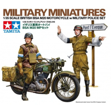 Tamiya 35316 British BSA M20 Motorcycle w/Military Police