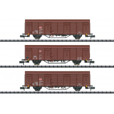 Minitrix 18901 Güterwagen-Set Bauart Gbs 258