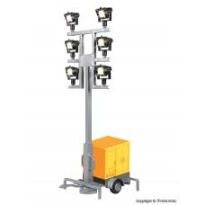 Viessmann 1343 H0 Leuchtgiraffe auf Anhänger mit 6 LEDs weiß