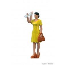 Viessmann 1555 H0 Winkende Frau mit bewegtem Arm