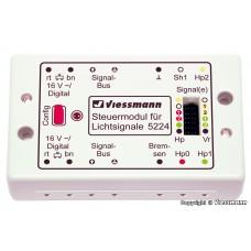 Viessmann 5224 Steuermodul für Lichtsignale digital/analog