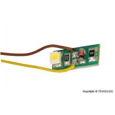 Viessmann 6006 Hausbeleuchtung mit 1 LED warmweiß, 10 Stück
