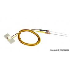 Viessmann 6048 LED für Etageninnenbeleuchtung weiß, 10 Stück