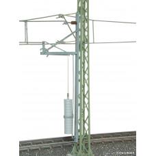 Viessmann 4165 H0 Hebelspannwerk mit Abspannmast