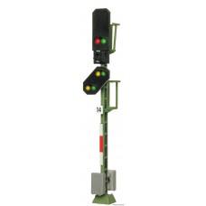 Viessmann 4014 H0 Licht-Blocksignal mit Vorsignal