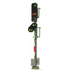 Viessmann 4015 H0 Licht-Einfahrsignal mit Vorsignal