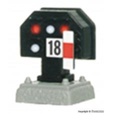 Viessmann 4018 H0 Licht-Sperrsignal, nieder