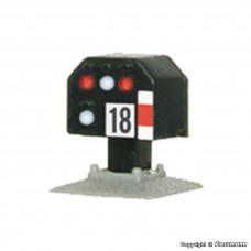 Viessmann 4418 N Licht-Sperrsignal, nieder