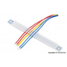 Viessmann 6809 Kabelhalter, 10 Stück