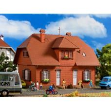 Vollmer 43659 H0 Backstein-Siedlungshaus
