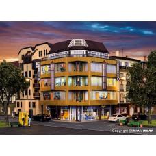 Vollmer 43800 H0 City-Eckhaus mit Dachatelier