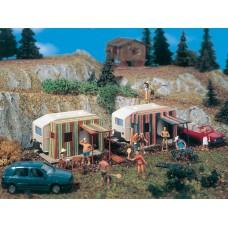Vollmer 45145 Campingwagen, 2 Stück