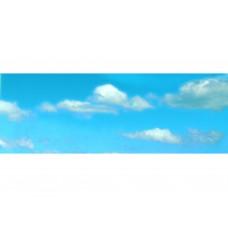Vollmer 46112 Hintergrundkulisse Wolken, dreiteilig, 266 x 48 cm