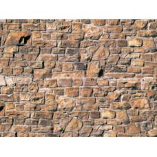 Vollmer 46036 Mauersteinplatte, beige-braun