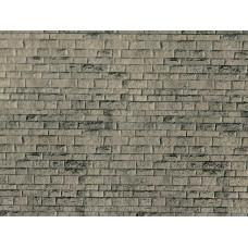Vollmer 46049 H0 Mauerplatte Haustein natur aus Karton, 25 x 12,5 cm