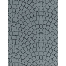 Vollmer 46053 H0 Mauerplatte Kopfsteinpflaster aus Karton, 25 x 12,5 cm
