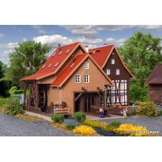 Vollmer 47713 N Tonbachmühle mit Mühlrad und Sägegatter