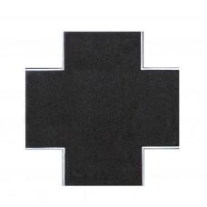 Vollmer 48261 H0 Straßenplatte Asphalt, X-Kreuzung, L 15 x B 15
