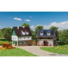 Vollmer 49540 Bauernhaus mit Scheune und Hoftor, Z