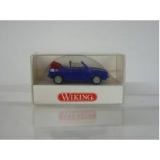 Wiking 00460218 VW Golf Cabriolet, blau