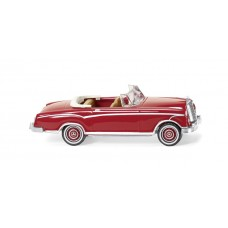 Wiking 014301 MB 220 S Cabrio - rubinrot