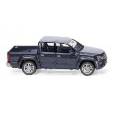 Wiking 031146 VW Amarok GP Highline - starlight blue metallic