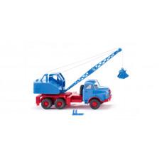 Wiking 066206 Kranwagen (MAN/Fuchs) - himmelblau