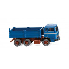 Wiking 067309 Hochbordkipper (MB) - azurblau